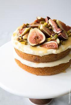 Honey Earl Grey Fig Cake