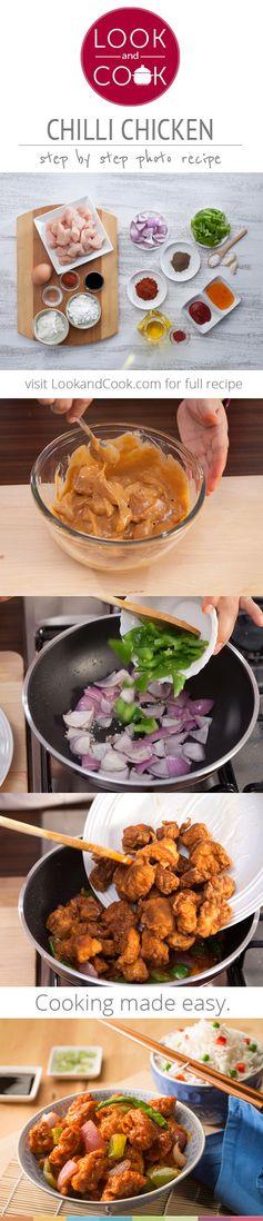 How to make chilli chicken