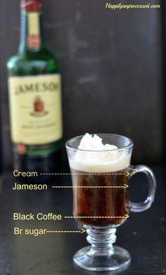 Irish Coffee (with Jameson