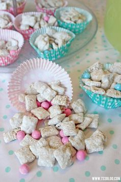 It's a (BOY or GIRL! Chex Muddy Buddies