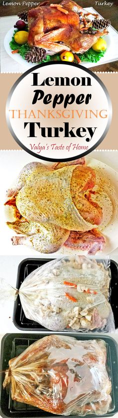Lemon Pepper Thanksgiving Turkey