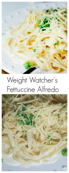 Lighter Fettuccine Alfredo Sauce