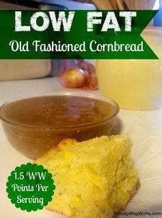 Low Fat Old Fashioned Cornbread