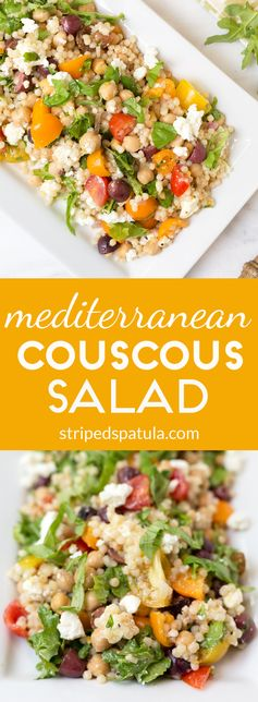 Mediterranean Pearled Couscous Salad