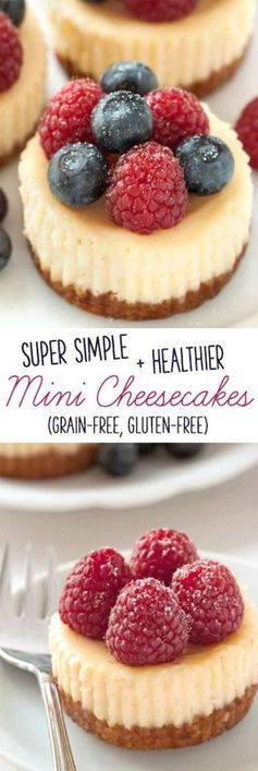 Mini Cheesecakes (grain-free, gluten-free