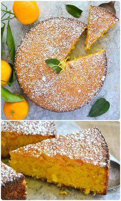 Minimal Monday: Flourless Whole Tangerine Cake (gluten free