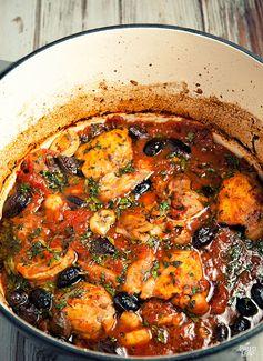 Nicoise Chicken Stew