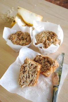 Pear Oat Muffins