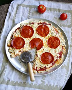 Pepperoni Pizza - Gluten Free, Dairy Free and Egg Free