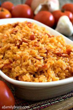 Portuguese Tomato Rice (Arroz de Tomate