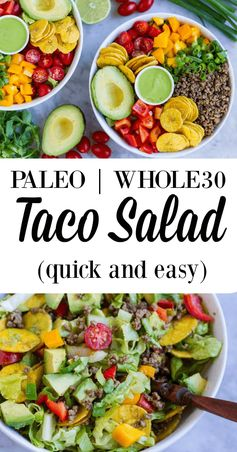 Quick and Easy Taco Salad