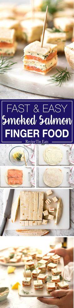 Smoked Salmon Bites (Appetizer
