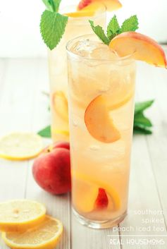 Southern Spiked Peach Iced Tea