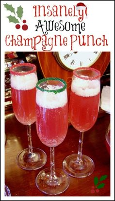 Spiced Champagne Punch