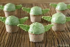 Star Wars Yoda Cupcakes