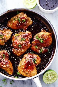 Sticky Asian Glazed Chicken