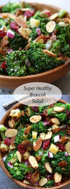 Super Healthy Broccoli Salad
