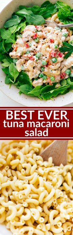 The BEST Macaroni Tuna Salad