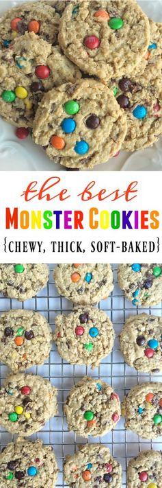 The Best Monster Cookies