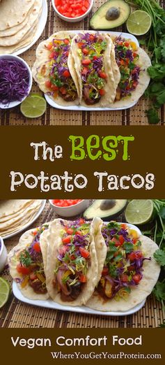 The Best Potato Tacos