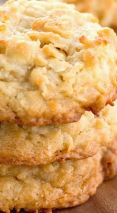 White Chocolate Macadamia Coconut Cookies