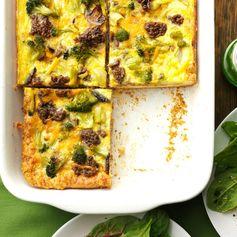 Broccoli Biscuit Squares
