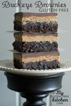 Buckeye Brownies (Gluten-free