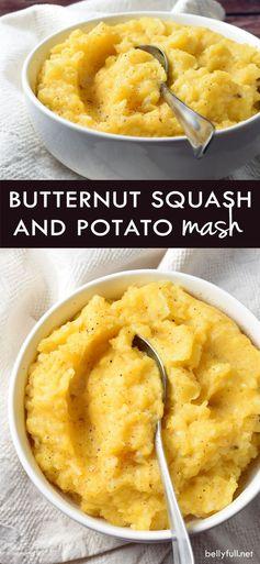 Butternut Squash and Potato Mash