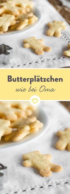 Butterplätzchen: 3-2-1-Teig für Ausstecherle