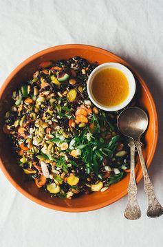 Carrot and Sake Salad