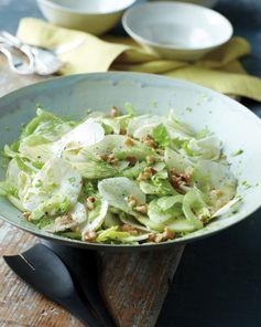 Celery, Sunchoke, and Green Apple Salad with Walnuts and Mustard Vinaigrette