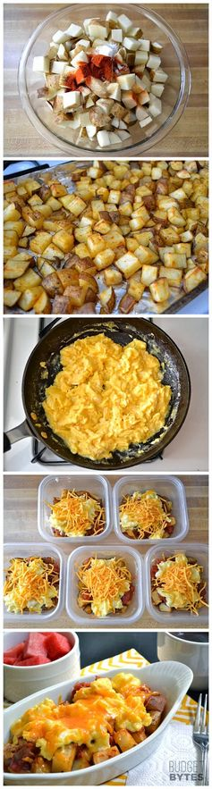 Country Breakfast Bowls (freezable