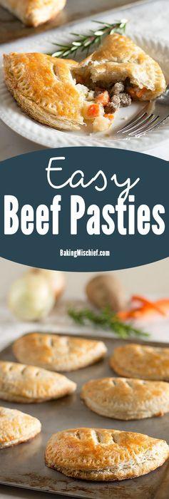 Easy Beef Pasties