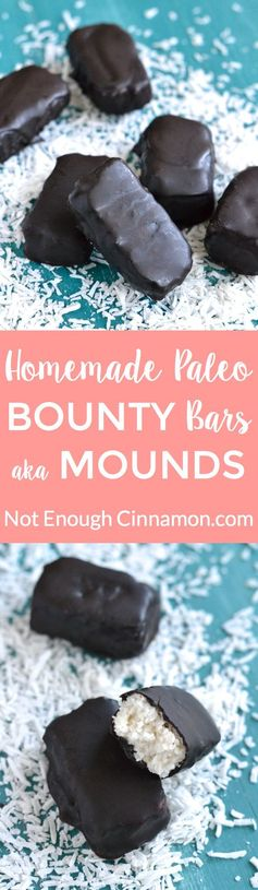 Easy Paleo Bounty Bars aka Mounds