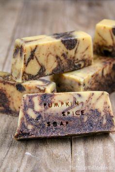 Easy Pumpkin Spice Soap