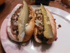 Famous Butler Hot Dog Shoppe Chili Sauce