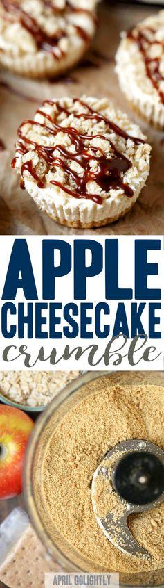 Festive Dessert & Coffee Bar with Apple Cheesecake Crumble