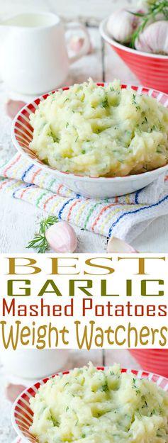 Garlic Mashed Potatoes – Weight Watchers Friendly