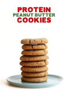 Grain-Free Protein Peanut Butter Cookies