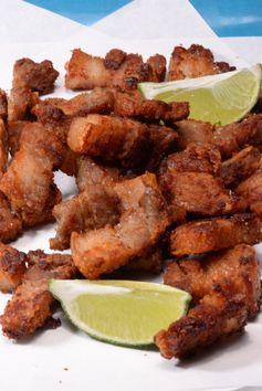 Honduran Chicharones or pork crackling
