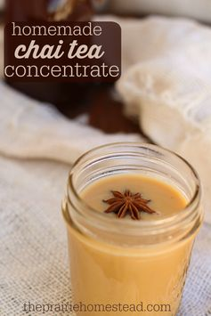 How to make Chai Tea Concentrate