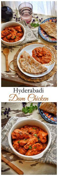 Hyderabadi Dum Chicken