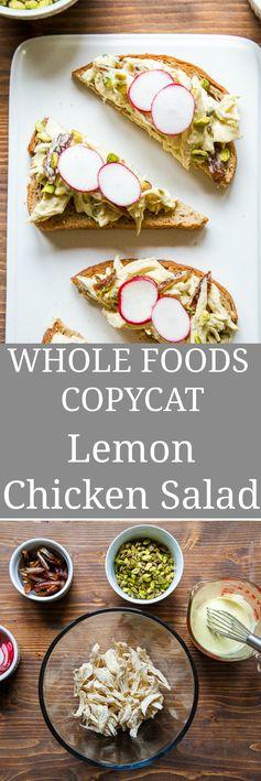 Lemon Aioli Chicken Salad with Pistachios