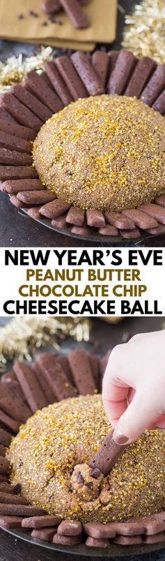 New Year's Eve Cheesecake Ball