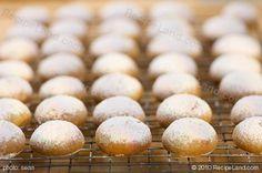 Old World Pfeffernusse Cookies