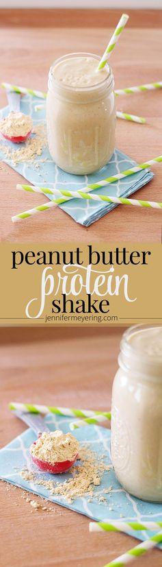 Peanut Butter Protein Smoothie