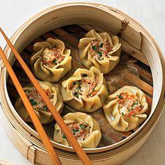 Pork and Shrimp Dumplings (Shu Mai