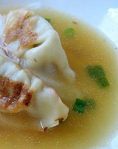 Potsticker Soup