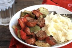 Roasted Sausage, Peppers and Onions - CE