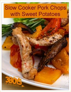 Slow Cooker Pork Chops with Sweet Potatoes